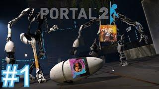 La nouvelle aventure en duo ! (Ft. CrytekWx9) | Portal 2 #1