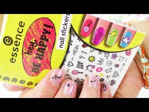 Essence Nail Sticker Im Test Hey Be Happy Süße Emoji