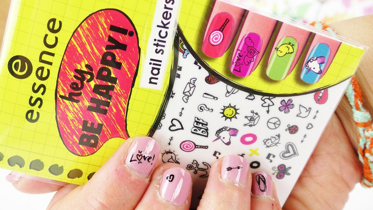 Essence Nail Sticker im Test | "|1280|720|?|a8e7395ff469dde320dbabc2996d2f5d|False|UNLIKELY|0.31776201725006104