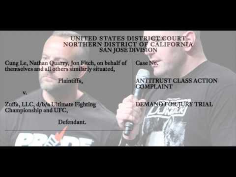 The UFC Anti-Trust Lawsuit Breakdown