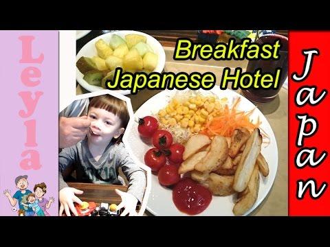 Breakfast Buffet Hotel Japan 🗾🍚 – Shinjuku Sunroute Plaza | Tokyo - Japan Vlog