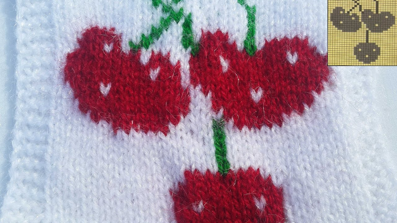 47bfa7a40 22- Cherry Sweater Design in Hindi - With Graph - YouTube
