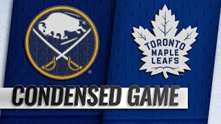 03/02/19 Condensed Game: Sabres @ Maple Leafs