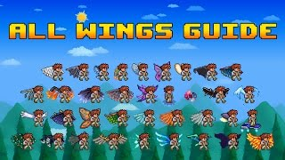 All Wings Guide - Terraria 1.3