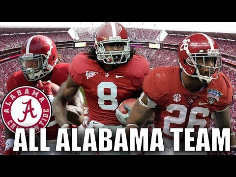 ALL ALABAMA TEAM! THE NCAA POWERHOUSE! Madden 19 Ultimate Team