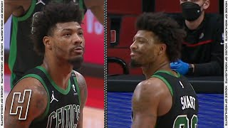 Marcus Smart Intentionally Misses the FT to Give the Blazers a Tough Final Shot | April 13, 2021