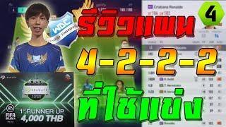 รีวิวแผน+แทคติกที่ใช้ในการแข่ง SeaGate E-SPORT!! [FIFA Online 4] #FO4