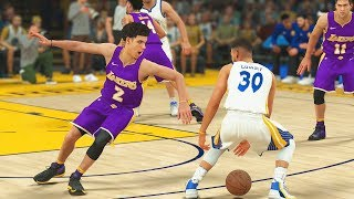 Stephen Curry BREAKS Lonzo Ball ANKLES! Lonzo Ball ANKLE BROKEN By Stephen Curry 1 on 1
