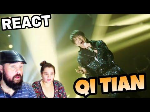 VOCAL COACHES REACT: HUA CHENYU - QI TIAN SINGER 2018