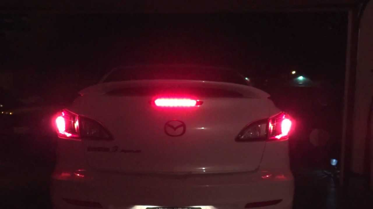 Third Brake Light Law Lambretta Varitronic Wiring Diagram Flashing Led 3rd Youtube