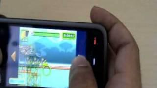 Nokia 5233 touchscreen Video Review