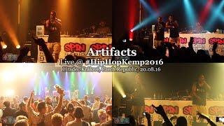 Artifacts • live @ Hip Hop Kemp 2016 [Full Show]