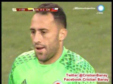 Chile 2 Colombia 0 (TDW Radio Mexico) Copa America Centenario 2016