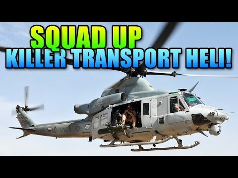 Battlefield 4 Squad Up - Transport Helicopter Rampage!