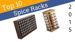 10 Best Spice Racks 2015
