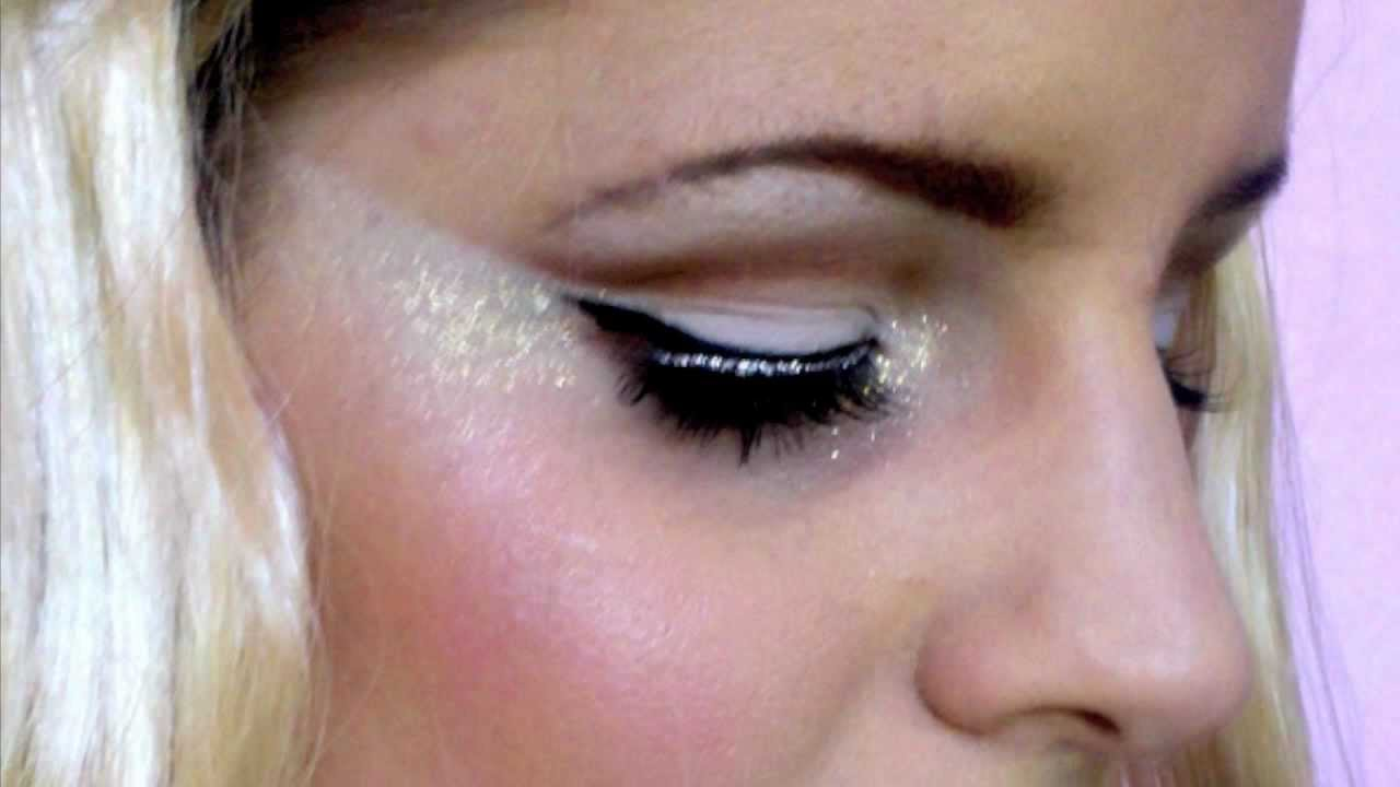 Halloween Series: Angel / Ice Princess Glittery Makeup Tutorial ...