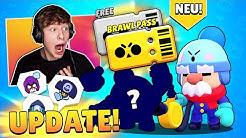 BRAWL PASS - 2 neue BRAWLER + 7 neue SKINS - NEUES UPDATE WIRD MEGA! • Brawl Stars deutsch