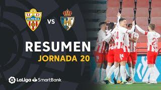 Resumen de UD Almería vs SD Ponferradina (3-1)