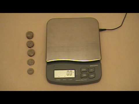 How To Make a 200g Test Weight w/Coins