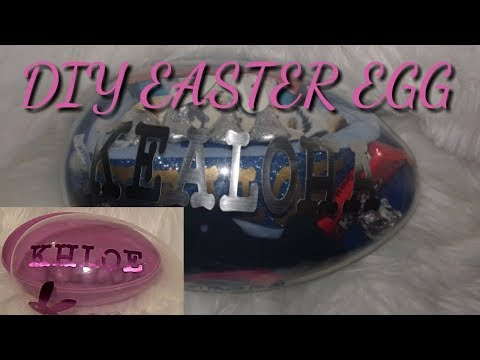 DIY Easter Egg With Cricut Adhisive Foil