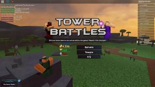 ROBLOX: TOWER BATTLES GOT AN UPDATE! [GOLDEN TOWERS NOW FOR SALE]