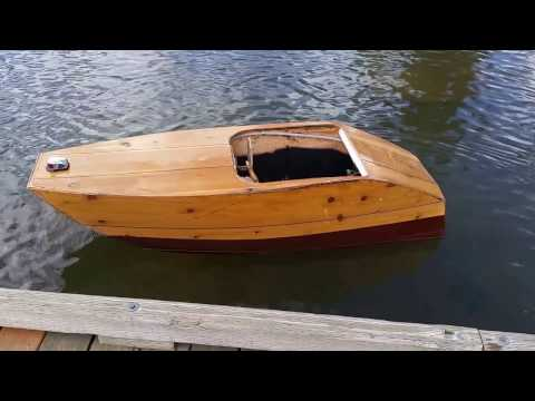 Galerry plywood electric boat youtube