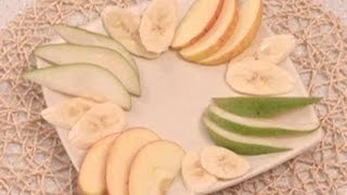 Чтобы нарезанные фрукты не потемнели