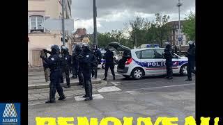 Bureau départemental 67 Alliance police Nationale présent sur l'acte XXIV gilets jaunes Strasbourg