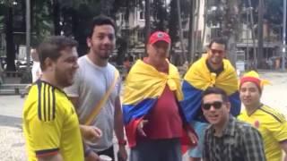 Kolombiyalı taraftarlar -1