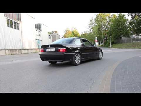 BMW E36 325i sport exhaust sound