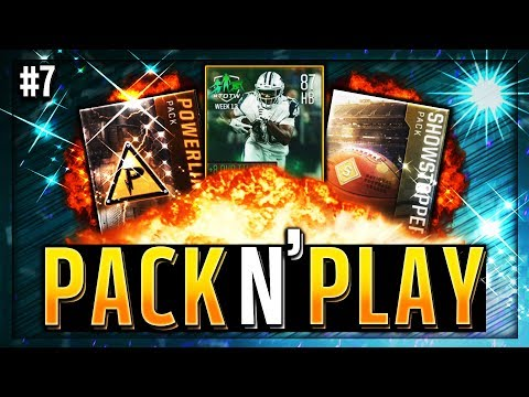 BEST PULLS OF THE SERIES! MADDEN MOBILE 18 SHOWSTOPPING POWER BUNDLE OPENING! [Pack and Play Ep. 7]