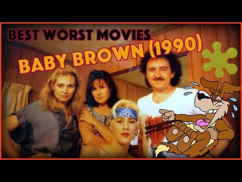 Random Movie Pick - Awesomely Bad Movie - BABY BROWN (1990) YouTube Trailer