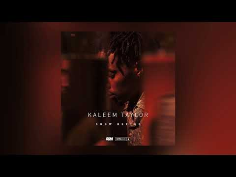 Kaleem Taylor - Know Better (Cover Art) [Ultra Music]