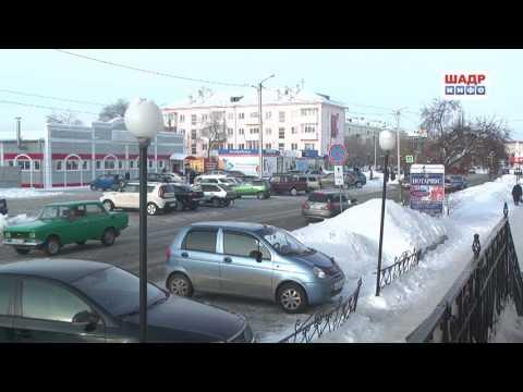 В Шадринске стало больше аварий (2017-10-02)