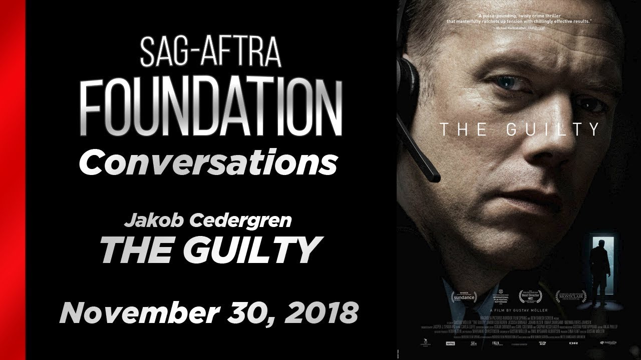 Conversations With Jakob Cedergren Of The Guilty Youtube