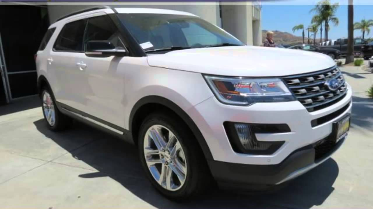 2016 ford explorer lake elsinore ford new car special