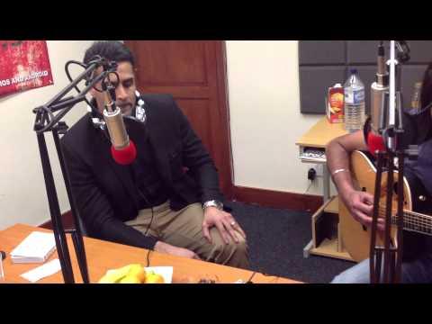 Chirag Rao sings O Re Piya LIVE on Luv Asia Radio