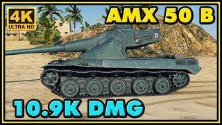 World of Tanks   AMX 50 B - 10 Kills - 10,9K Damage Gameplay