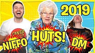 Oma Miep (84) RAADT MODERNE WOORDEN! (2019)