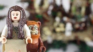 LEGO Star Wars Ewok Village Review 10236