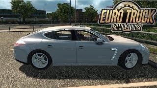 Porsche Panamera ETS2 - Euro Truck Simulator 2 ETS2 v1.27 I Car Mod