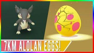 Hatching All 7km Alolan Eggs in Pokémon GO! Walking in Downtown Sacramento with iVoli