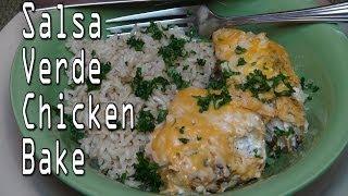 Chicken Breast And Salsa Verde Bake