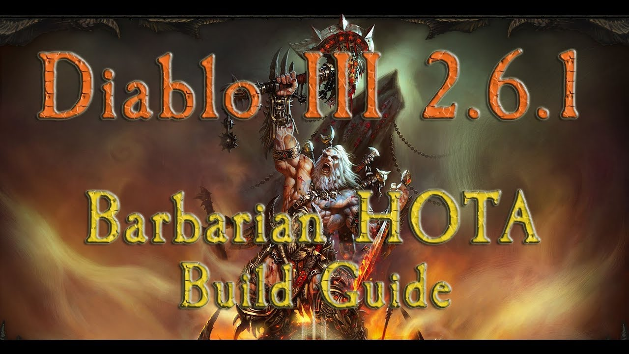 barbarian hota build with immortal king