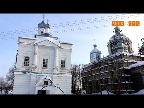 Школьники из Никольска сняли сюжет о восстановлении храма в Никольском районе
