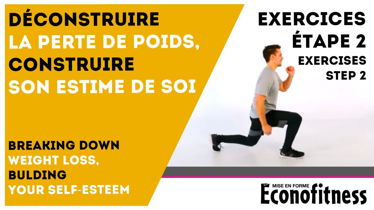 Exercices Guide Perte de poids 10 livres en 10 semaines - Étape 2 - YouTube