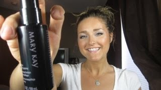 First Impression on Mary Kay Setting Spray!!