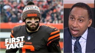 The Browns are being overhyped - Stephen A. | First Take