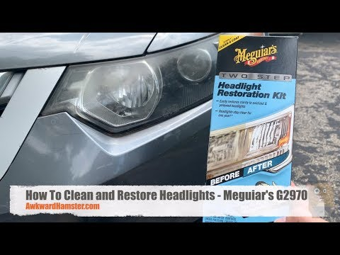 How To Clean and Restore Headlights - Meguiar's G2970