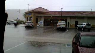 Monsoon at Chiriaco Summit California July 31 2012
